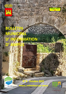 BULLETIN MUNICIPAL D'INFORMATION D'AMPUS - N°6 OCTOBRE 2021