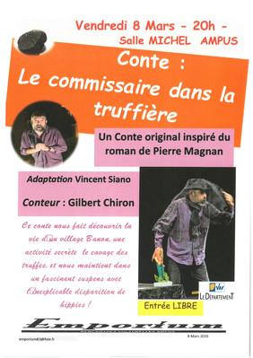 Conte : Le commissaire dans la Truffière