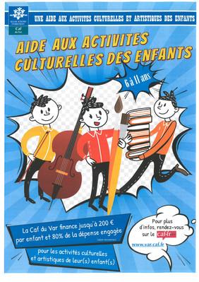Aide aux activités culturelles des enfants