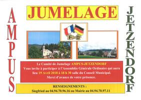 Jumelage Ampus-Jetzendorf