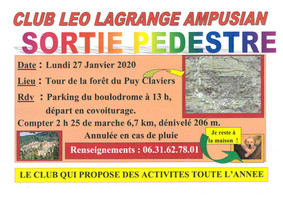 Sortie Club Léo Lagrange Ampusian