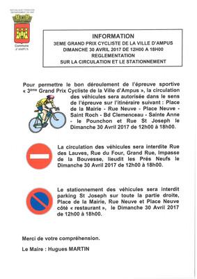 Grand Prix Cycliste de la ville d'Ampus