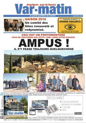 L'actualité d'Ampus relayée par Bernard Giuli !
