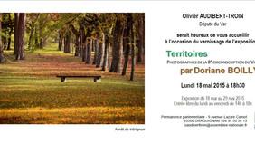 "Exposition ""Territoires"" par Doriane Boilly"