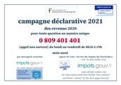 CAMPAGNE DECLARATIVE 2021 DES REVENUS 2020