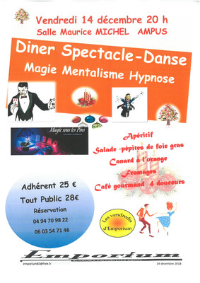 Diner Spectacle-Danse