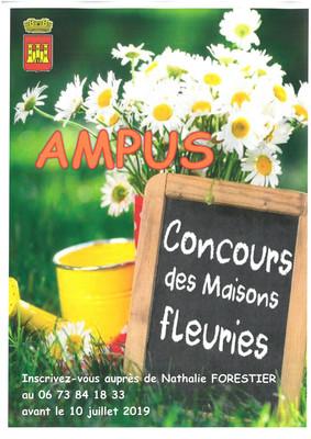 Concours Maisons et Etablissements Fleuris 2019