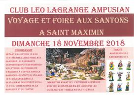 Voyage et Foire aux Santons