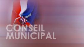 Réunion du Conseil Municipal mardi 24 novembre à 20h30