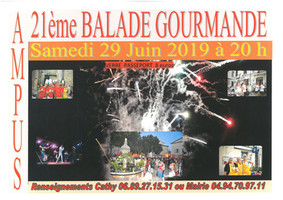 21ème BALADE GOURMANDE