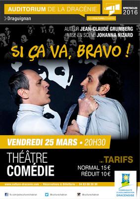 Théâtre en Dracénie le vendredi 25 mars 2016 à 20h30