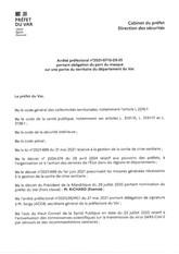 ARRETE PREFECTORAL PORTANT OBLIGATION DU PORT DU MASQUE