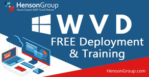 Henson Group offers Free WVD Deployments