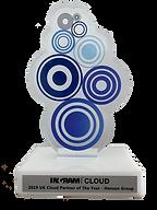 Ingram Cloud Award Trophy - 2019 UK Clou