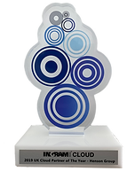 Ingram Cloud Award Trophy - 2019 UK Clou