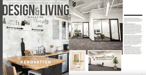 Henson Group's Fargo offices featured in Design & Living magazine