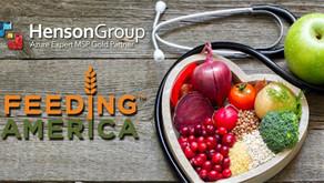 Henson Group donates $2,000 to Feeding America