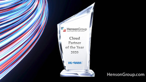 """Henson Group Named """"Cloud Partner of the Year 2020"""""""