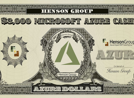 $3,000 in FREE AZURE