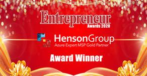 Entrepreneur Awards 2020 names Henson Group
