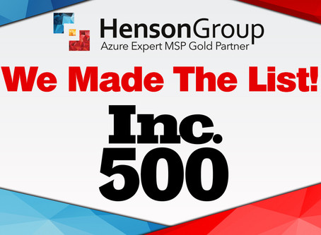 Henson Group named to Inc. 500