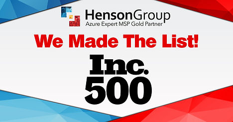 Henson-Group---Inc-500-Company-Announcem