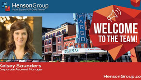 Kelsey Saunders joins us from Microsoft Fargo