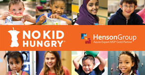Henson Group donates $2,000 to No Kid Hungry