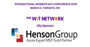 Henson Group sponsors the International Woman's Day Conference in Toronto, Canada