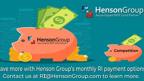 Henson Group offers worldwide Azure invoice financing options