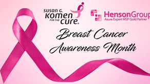 Henson Group supports Breast Cancer Research and donates to The Komen Foundation