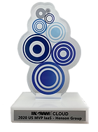 Ingram Cloud Award Trophy - 2020 MVP laa