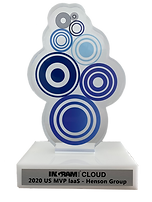 Ingram Cloud Award Trophy - 2020 MVP laa