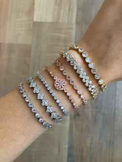 Adjustable Evening Bracelets