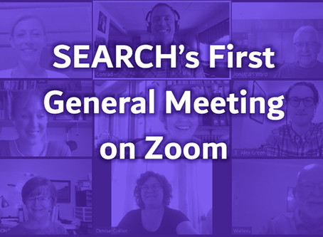 SEARCH General Meeting Minutes August 11, 2020