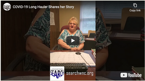 VIDEO: Yancey County Resident Shares Her Powerful Story as a COVID-19 Long Hauler