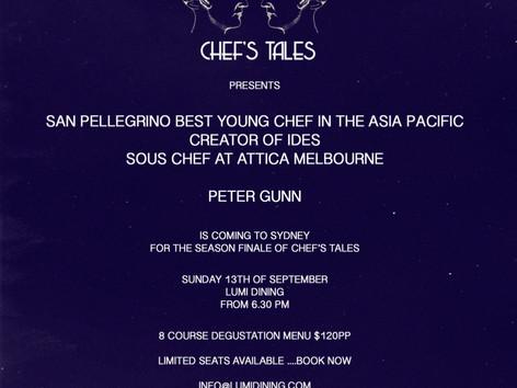 Chef's Tales Season Finale LuMi hosts IDES