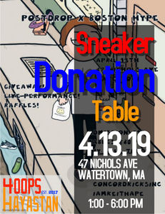 Sneaker Donation Collection In Boston!