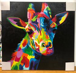 Giraffe Large Painting