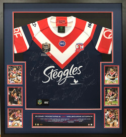 Roosters 2018 Premiers Jersey with Photo