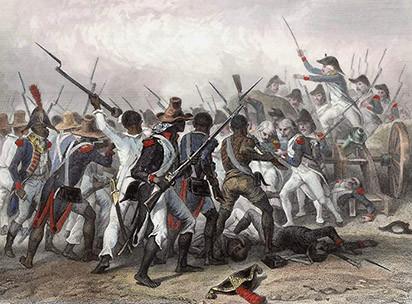 Slavery ended in Haiti, not Europe
