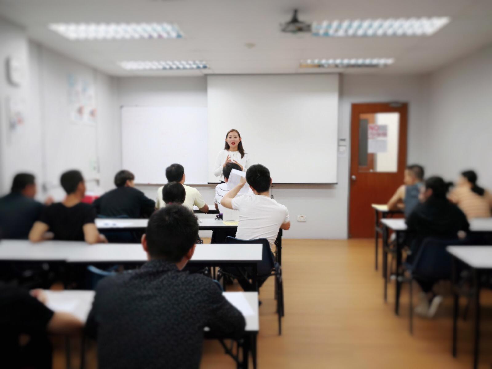Zhang laoshi corporate class