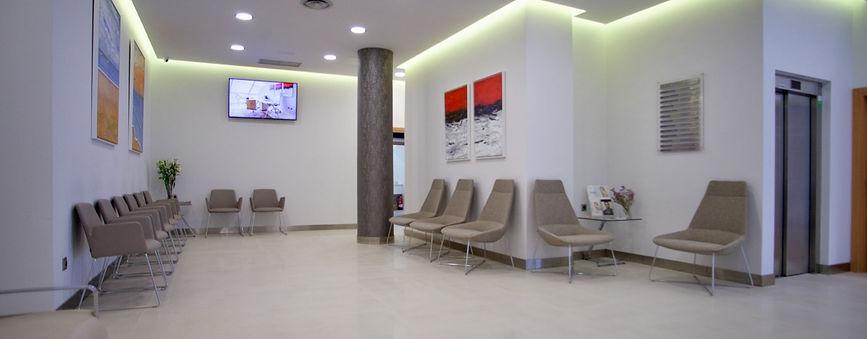 Sala de espera Clínica Vida especialidad
