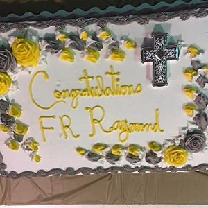 Father Raymond's Installation Reception