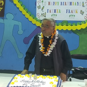 Fr. Frank's 70th Birthday Celebration