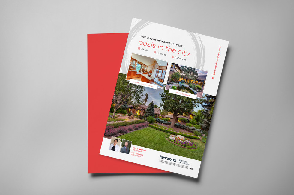 Denver Real Estate Magazine Ad - Humbl Design Co LLC