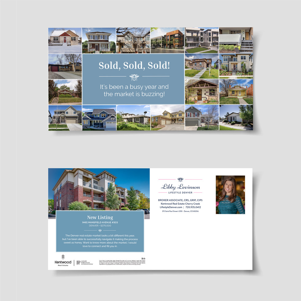 Libby Levinson Mailer - Humbl Design Co LLC