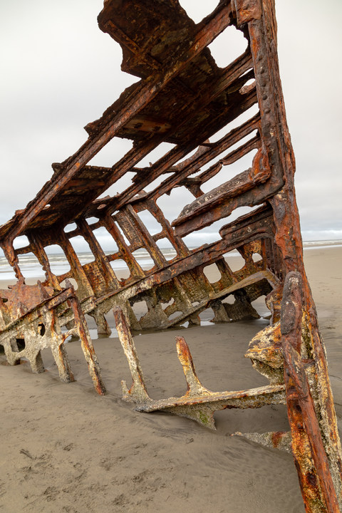Shipwreck of the Peter Iredale, Astoria, Oregon