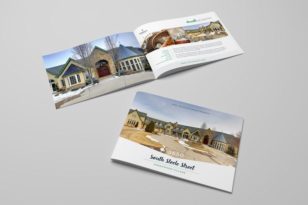 Dwell Colorado Brochure Book - Humbl Design Co LLC
