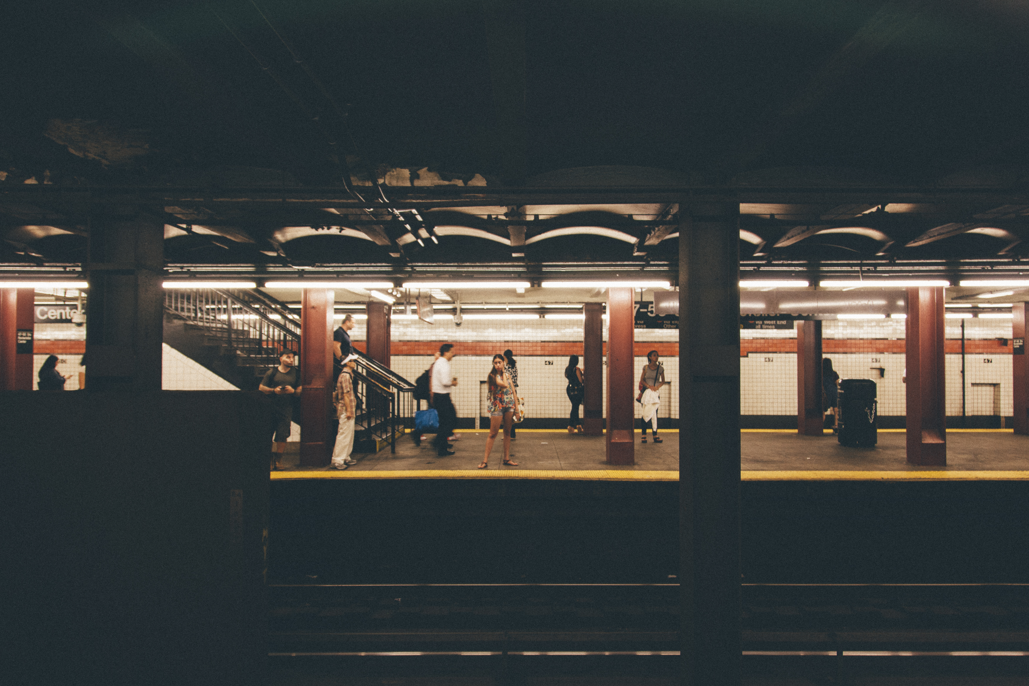 New York Subway - Brittany Ouzts